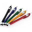 hesapli Cep Telefonu Süsleri-szkinston iphone / ipod / ipad / samsung ve diğer 5-in-1 yeni stil serisi kapasitif stylus dokunmatik ekran kalemi tükenmez kalem