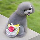 preiswerte Hundespielsachen-Katze Hund Hosen Hundekleidung Blume Beige Gelb Grün Rosa Baumwolle Kostüm Für Haustiere Herrn Damen Niedlich Lässig/Alltäglich