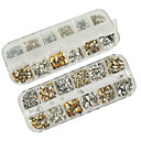cheap Makeup & Nail Care-1200pcs mixs model rivet nail art decorations