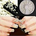 hesapli Makyaj ve Tırnak Bakımı-1 pcs Nail Jewelry / Dekorasyon Setleri Moda Günlük Tırnak Tasarımı Tasarımı
