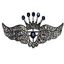 ieftine Bijuterii de Păr-Bărbați Broșe femei Broșă Bijuterii Negru Argintiu Pentru Zilnic Casual