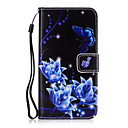 cheap Galaxy J Series Cases / Covers-Case For Samsung Galaxy Card Holder Wallet with Stand Full Body Cases Flower Hard PU Leather for Grand Prime Core Prime Core 2