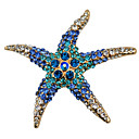 cheap Brooches-Women's Brooches - Starfish Fashion Brooch White / Red / Blue For Party / Daily / Casual