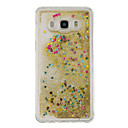 cheap Galaxy J Series Cases / Covers-Case For Samsung Galaxy J5(2016) / J3(2016) Flowing Liquid Back Cover Glitter Shine Soft TPU for J5 (2016) / J5 / J3 (2016)