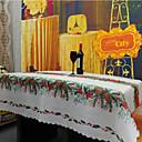 preiswerte Heimbedarf-Leinen  /  Baumwollmischung Quadratisch Tischdecken Mit Mustern / Stickerei Umweltfreundlich Tischdekorationen 1 pcs
