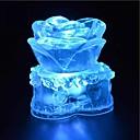 hesapli Parti Malzemeleri-1 parça Gece aydınlatması LED Darbeye Dayanıklı / Su Geçirmez Kristal / Sanatsal / LED