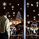 baratos Adesivos para Decoração-Natal Desenho Animado Feriado Adesivos de Parede Autocolantes de Aviões para Parede Autocolantes de Parede Decorativos Autocolantes de