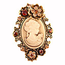 cheap Brooches-Women's Brooches - Stylish Brooch Silver / Golden For Party / Dailywear / Daily / Casual