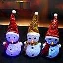 ieftine Lumini & Gadget-uri LED-1 piesă LED-uri de lumină de noapte Schimbare - Culoare Tradițional / Retro / Modern contemporan