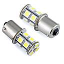 baratos Luzes de Interior para Carros-2pcs Carro Lâmpadas 1W SMD 5050 LED Luz traseira