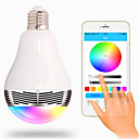 tanie Inteligentne zegarki-RGB Bezprzewodowy Others Wireless Bluetooth 4, colorful dimming LED lights Ivory