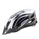 お買い得  コンパス-大人 バイクヘルメット 18 通気孔 CE 耐衝撃性, 軽量, サイズ調整機能 EPS, PC スポーツ ロードバイク / レクリエーションサイクリング / サイクリング / バイク - シルバー / レッド / ブルー 男性用 / 女性用 / リムーバブルバイザー