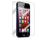 hesapli Küpeler-Ekran Koruyucu Apple için iPhone 6s iPhone 6 iPhone SE/5s 10 parça Ön ve Arka Koruyucu