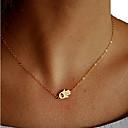 preiswerte Halsketten-Damen Anhängerketten - Europäisch, Simple Style, Modisch Gold Modische Halsketten Schmuck Für Party, Alltag, Normal