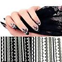 preiswerte Make-up & Nagelpflege-10pcs Spitzennagelaufklebernagelkunstentwurfsnagel-Werkzeugzusatz