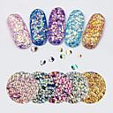 tanie Makijaż i pielęgnacja paznokci-1 pcs Glitter i Poudre / Cekiny Błyskotki / Modny Codzienny Nail Art Design