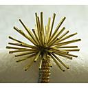 hesapli Makyaj ve Tırnak Bakımı-Dikdörtgen Desenli / Geometrik / Tatil Peçete Yüzüğü , alaşım MalzemeOtel Yemek Masası / Düğün Dekorasyon / Düğün Ziyafet Yemeği / Noel
