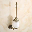 رخيصةأون أدوات الحمام-حاملة فرشاة التواليت أنتيك نحاس 1 قطعة - حمام الفندق