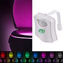 preiswerte LED-Kolbenbirnen-ywxlight® 8 Farbe Toilettenschüssel Licht führte Toilettenlicht menschlichen Bewegungssensor Licht Badezimmer WC Nachtlicht Pir automatisch aktiviert