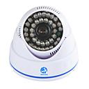 hesapli CCTV Sistemleri-Jooan® 700tvl güvenlik gözetleme cctv kamera kubbe video monitör 36 ir leds gece görüş kapalı ev