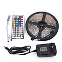 cheap Bike Lights-5m Light Sets 150 LEDs 5050 SMD RGB Remote Control / RC / Cuttable / Dimmable 100-240 V / Linkable / Suitable for Vehicles / Self-adhesive / Color-Changing / IP44