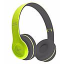 hesapli Kulaklık Setleri ve Kulaklıklar-P47 Kulak Üzerindeyim Kablosuz Kulaklıklar Dinamik Plastik Cep Telefonu Kulaklık Ses Kontrollü / Mikrofon ile / Gürültü izolasyon kulaklık