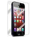 hesapli iPhone SE/5s/5c/5 İçin Ekran Koruyucular-Ekran Koruyucu Apple için iPhone 6s iPhone 6 iPhone SE/5s 2 adets Ön ve Arka Koruyucu