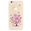 preiswerte iPhone Hüllen-Hülle Für Apple iPhone X / iPhone 8 Plus / iPhone 7 Muster Rückseite Baum Weich TPU für iPhone X / iPhone 8 Plus / iPhone 8