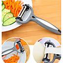 저렴한 과일 & 야채 도구-주방 도구 플라스틱 크리 에이 티브 주방 가젯 필러 및 강판 야채에 대한