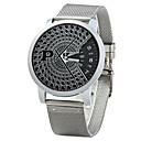 ieftine Ceasuri Bărbați-Bărbați Ceas La Modă Ceas Elegant Quartz Argint Analog Clasic - Negru Argintiu
