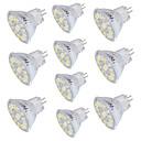 hesapli LED Spot Işıkları-10pcs 4 W 350 lm GU4(MR11) LED Spot Işıkları 15 LED Boncuklar SMD 5733 Dekorotif Sıcak Beyaz / Serin Beyaz 30 V / 10 parça