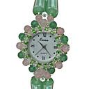 ieftine Ceasuri Damă-Pentru femei Ceas La Modă Ceas Brățară Quartz Jade Verde Analog Charm Casual - Verde militar