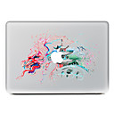 hesapli Mac Stickerlar-1 parça Deri Etiket için Çizilmeye Dayanıklı Hayvan Tema PVC MacBook Pro 15'' with Retina MacBook Pro 15'' MacBook Pro 13'' with Retina