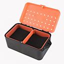 Χαμηλού Κόστους Κουτιά Ψαρέματος-κόκκινο κουτί σκουλήκι κουτί γαιοσκωλήκων πολυ - λειτουργική με κουτί σφουγγαριού γαιοσκωλήκων δροσερό αλιείας κουτί ζωντανό δόλωμα