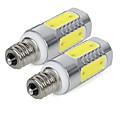 Χαμηλού Κόστους Λαμπτήρες LED κερί-3 W 300 lm E14 LED Λάμπες Καλαμπόκι 5 leds COB Ψυχρό Λευκό AC85-265