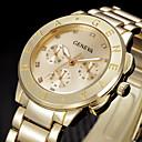ieftine Accesorii PS3-Pentru femei Ceas de Mână ceas de aur Quartz Oțel inoxidabil Argint / Auriu Cool Analog femei Modă - Auriu Argintiu Trandafiriu Un an Durată de Viaţă Baterie / SSUO 377