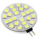 hesapli Diğer LED Işıkları-3W 260lm G4 LED Bi-pin Işıklar T 24 LED Boncuklar SMD 5050 Sıcak Beyaz Serin Beyaz 12V