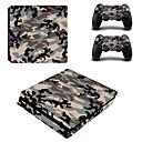 hesapli PS4 Aksesuarları-B-SKIN Çıkarmalar Uyumluluk PS4 Slim ,  Çıkarmalar PVC 1 pcs birim