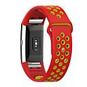 hesapli Çizim ve Yazı Aletleri-Watch Band için Fitbit Charge 2 Fitbit Spor Bantları Flüoroelastomer Metal Bilek Askısı
