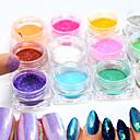 tanie Makijaż i pielęgnacja paznokci-12bottle/set Glitter Proszek / Nail Glitter Elegant & Luxurious / Ślub / Błyszczące Nail Art Design