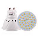 Недорогие Круглые LED лампы-1шт 3 W 200-300 lm GU10 / E26 / E27 Точечное LED освещение 36 Светодиодные бусины SMD 2835 Декоративная Тёплый белый / Холодный белый / Естественный белый 110-220 V / 1 шт. / RoHs