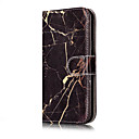 cheap Galaxy J Series Cases / Covers-Case For Samsung Galaxy J7(2016) J5(2016) Card Holder Wallet with Stand Flip Pattern Full Body Cases Marble Hard PU Leather for J7 (2016)