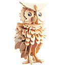 cheap Kid tablet-3D Puzzle Jigsaw Puzzle Wooden Puzzle Owl DIY 1 pcs Kid's Adults' Unisex Boys' Girls' Toy Gift