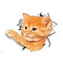 ieftine Inele-Animale Modă Desene Animate Perete Postituri Autocolante perete plane Autocolante de Perete Decorative Autocolante toaletă, Vinil Pagina