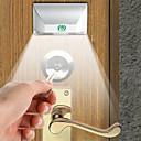 billige LED-kolbepærer-ywxlight 3w 4-ledet nøglehul lys lampe pir infrarød ir trådløs auto sensor bevægelsesdetektor (dc 12v)