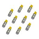 hesapli Car Signal Lights-10pcs T10 Araba Ampul 1.2W SMD 5050 85lm LED Dönüş Sinyali Işığı For Uniwersalny