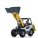 tanie Samochodziki i modele-KDW Koparka Ładowarka kołowa Pojazdy budowlane i ciężarówki do zabawy Samochodziki do zabawy Pojazd nakręcany od tyłu 1:32 Metal Dla