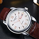 cheap Headsets & Headphones-Men's Fashion Watch Quartz 30 m / Leather Band Analog Casual Brown - White Black Blue