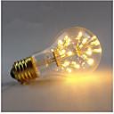 Χαμηλού Κόστους Λαμπτήρες LED σφαίρα-3 W LED Λάμπες Πυράκτωσης 200-300 lm E26 / E27 A60(A19) 30 LED χάντρες SMD Διακοσμητικό Έναστρος Θερμό Λευκό 85-265 V, 1pc / 1 τμχ / RoHs