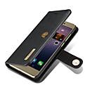 preiswerte Hüllen / Cover für Nokia-Hülle Für Huawei Geldbeutel / Kreditkartenfächer / mit Halterung Ganzkörper-Gehäuse Solide Hart Echtleder für P8 Lite (2017) / Huawei
